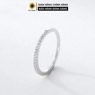 Nhẫn bạc Tiệm bạc 21 Centimeters Diamond Line