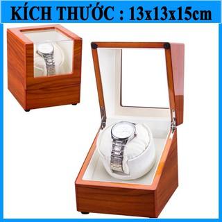 Hộp đựng đồng hồ cơ - Hộp đựng lên cót cho 1 đồng hồ automatic W139 thumbnail