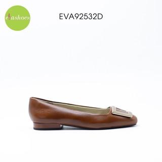Giày Búp Bê Phối Nơ Kim Loại Da Bò Non Evashoes - Eva92532D thumbnail