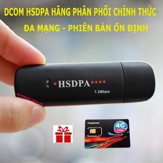 (Shop Chính Hãng Chuyên Sỉ) USB 3G HSDPA Dùng Đa Mạng, Hàng Chuyên Hãng,Bảo Hành 3 Thàng,Tặng Sim 4G Data Khủng thumbnail