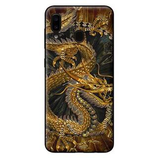 Ốp Lưng Samsung A20 – Rồng Nền Đen