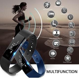Đồng hồ đeo tay thông minh ID115 Đồng hồ báo thức Đồng hồ báo thức Bước truy cập Smart Bluetooth Sport Dây đeo cổ tay