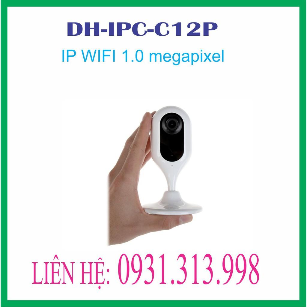 Camera IP hồng ngoại không dây 1.0 Megapixel DAHUA DH-IPC-C12P - 13635607 , 1222498663 , 322_1222498663 , 638000 , Camera-IP-hong-ngoai-khong-day-1.0-Megapixel-DAHUA-DH-IPC-C12P-322_1222498663 , shopee.vn , Camera IP hồng ngoại không dây 1.0 Megapixel DAHUA DH-IPC-C12P
