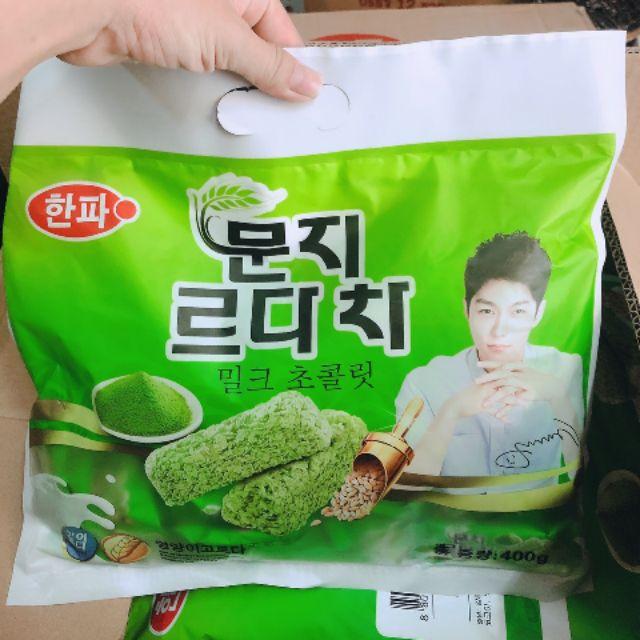 Combo 5 gói bánh yến mạch trà xanh Hàn Quốc