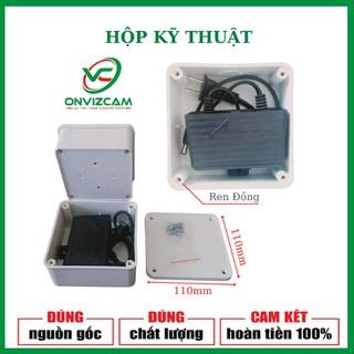 Hộp kỹ thuật đựng nguồn camera chống nước - Loại tốt có zen đồng lắp camera ezviz, onviz thumbnail