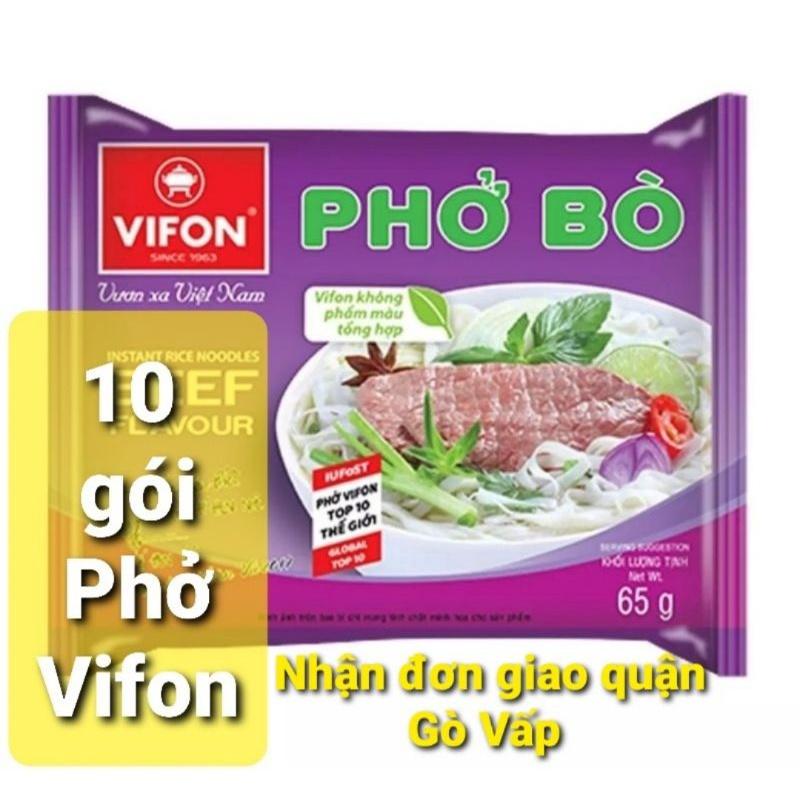 10 gói phở BÒ/GÀ Vifon gói 65 g