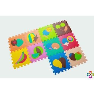 [CÒN HÀNG] – Thảm Xốp Cho Bé Ghép Hình (Miếng 30X30Cm)(Màu Sắc Ngẫu Nhiên) BMBE1212