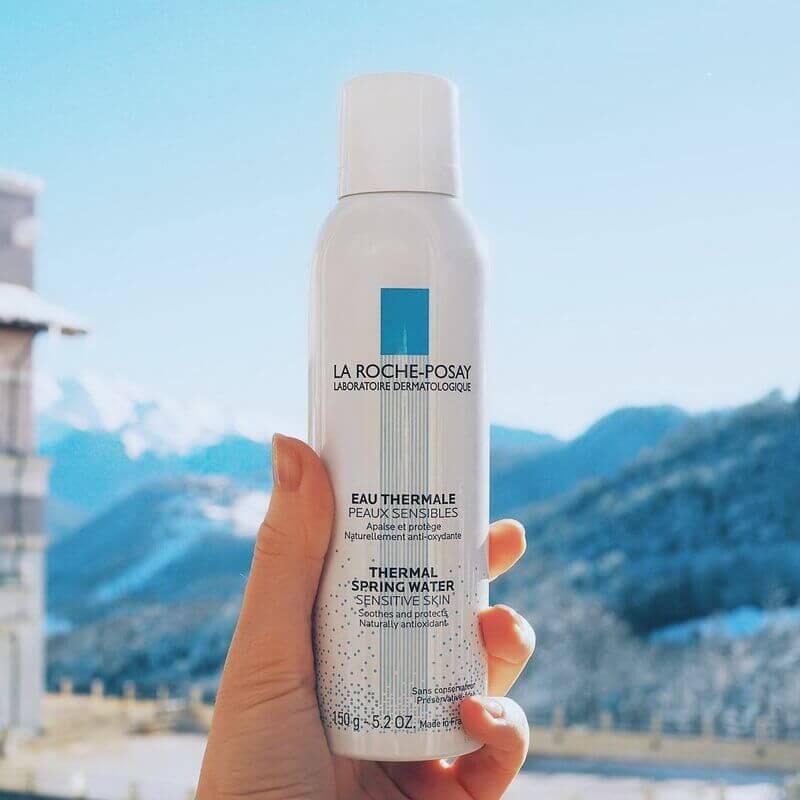 Xịt khoáng làm sạch và làm dịu La Roche Posay cho da nhạy cảm La Roche-Posay Thermal Spring Water 150ml