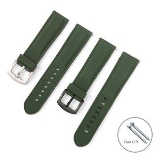 [Mã FASHIONT4FA2 giảm 10K đơn 50K] Dây đeo đồng hồ bằng silicon 8mm 20mm 22mm 24mm phong cách thể thao