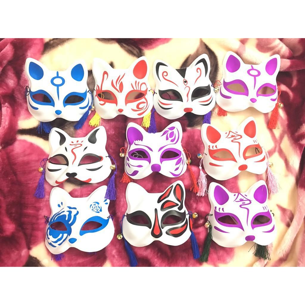( hàng sẵn )Mặt Nạ Vẽ Mèo mã sku CV8023 Nfull box