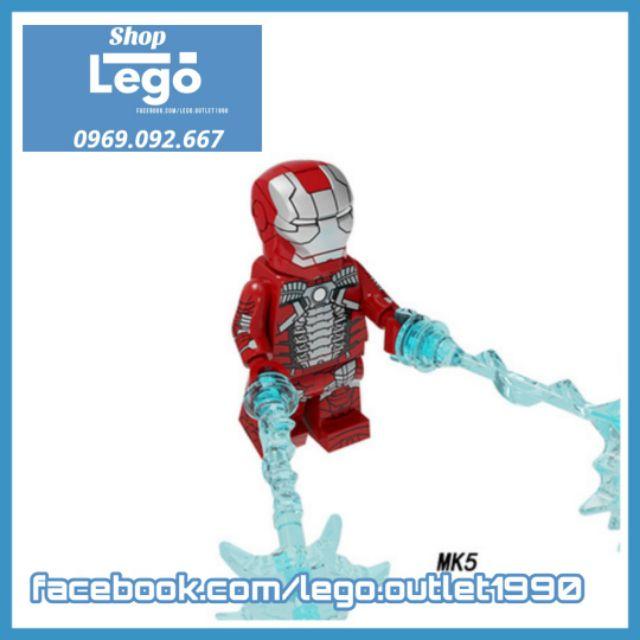 Xếp hình Người sắt Iron man Tuyển tập Lego MiniFigures Pogo PG8246