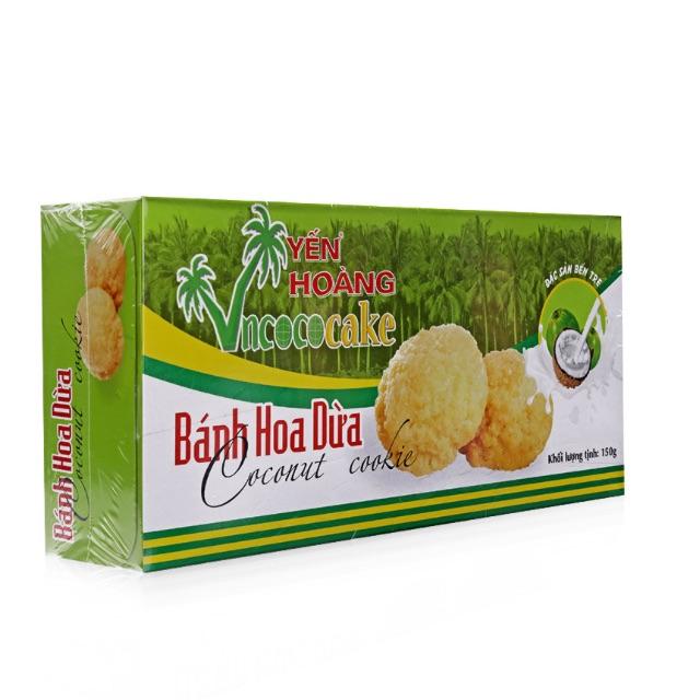 Bánh hoa dừa Yến Hoàng Hộp 150g