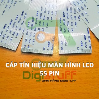 Cáp FFC 55 pin thay cáp bo tcon (t-con) / tín hiệu màn hình Ti vi