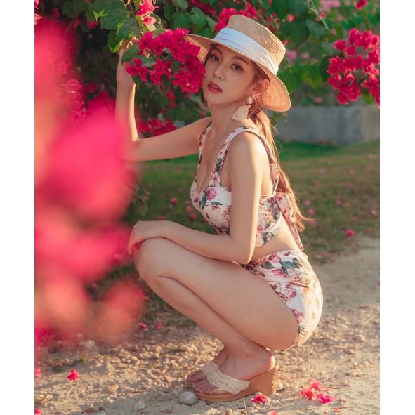 Bikini tay dài hàn quốc bikini 1 mảnh bikini 2 mảnh đồ bơi bikini cạp cao đi biển mùa hè | WebRaoVat