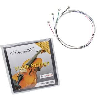 4 Pcs/set Violin Strings E-A-D-G Exquisite Stringed Musical Instrument Parts