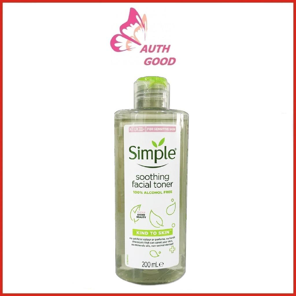 Nước hoa hồng 💖FREESHIP💖 Nước hoa hồng Simple UK giảm mụn kiểm soát dầu
