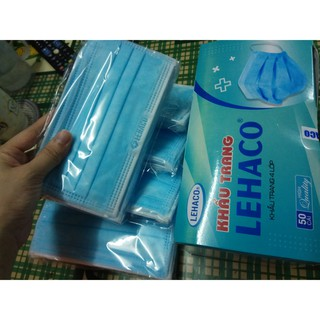 Khẩu trang Lehaco 4 lớp, vải kháng khuẩn thumbnail