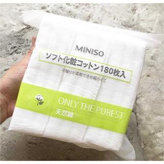 Bông tẩy trang FREE SHIP Bông tẩy trang Miniso Nhật Bản giá rẻ