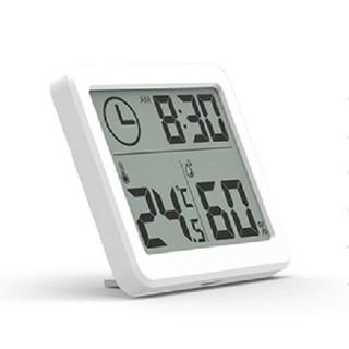Nhiệt kế, ẩm kế đo phòng kiêm đồng hồ điện tử