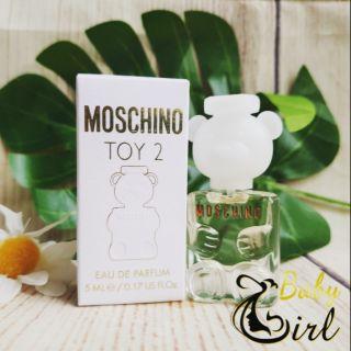 Nước hoa nữ chính hãng Moschino Toy 5ml thumbnail
