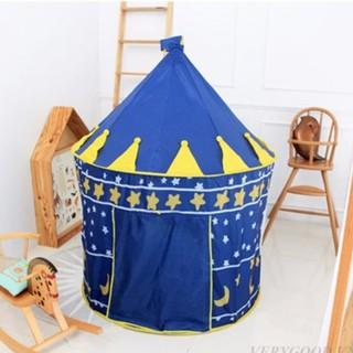Lều bóng lâu đài cho bé công chúa, hoàng tử