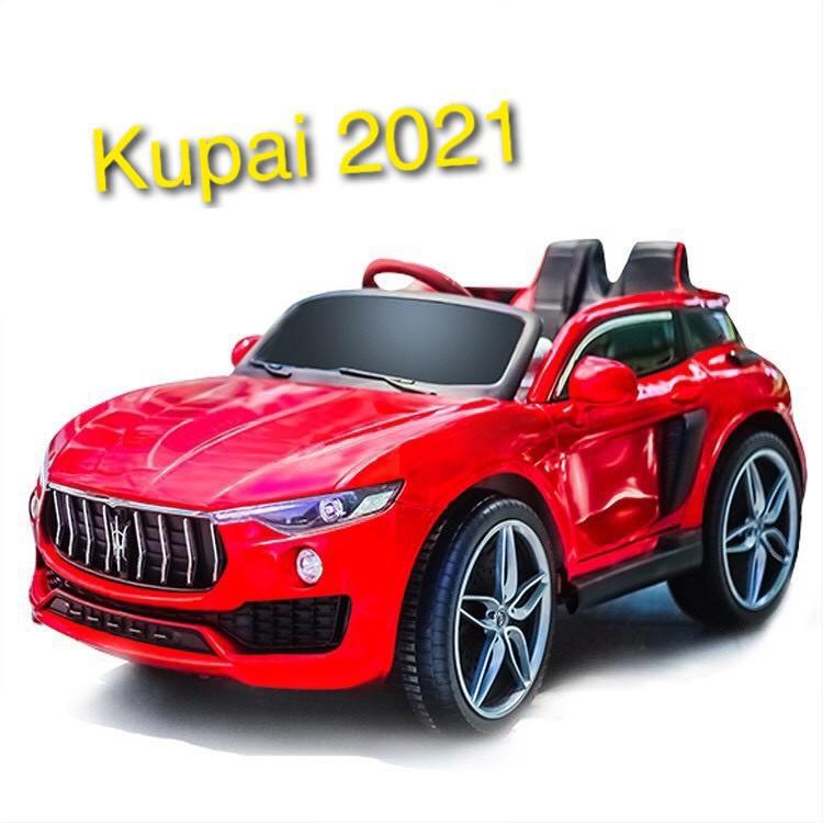 Ô tô xe điện đồ chơi KUPAI 2021 vận động cho bé 2 chỗ ngồi 4 động cơ