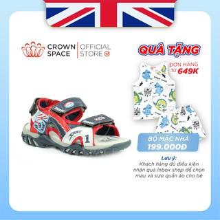 Dép Quai Hậu Sandal Bé Trai Crown UK Cruk523 Nhẹ Êm Size 26-35/2-14 Tuổi
