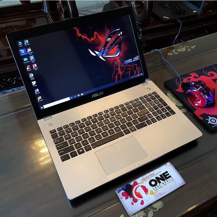 [Laptop Gaming Siêu Khủng] Asus N56VZ Core i7 3630QM/ Ram 8Gb/ SSD 256Gb/ Card đồ họa rời Nvidia GT650M 4Gb siêu mạnh .