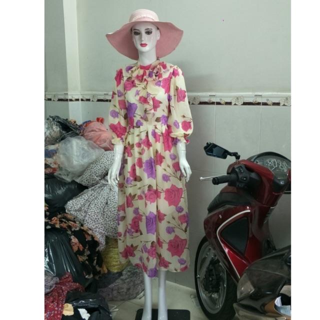 3328186753 - Combo đầm hoa thiết kế và hoa kiểu