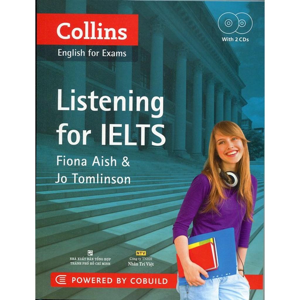 SÁCH - COLLINS - LISTENING FOR IELTS (KÈM 2 AUDIO CDS)