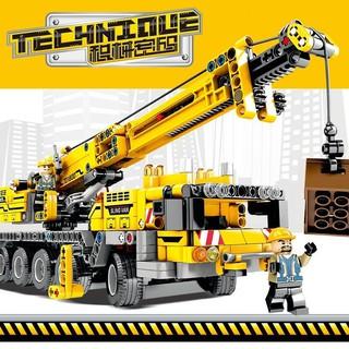 Bộ Lắp Ghép Lego Nhân Vật Xe Công Trình