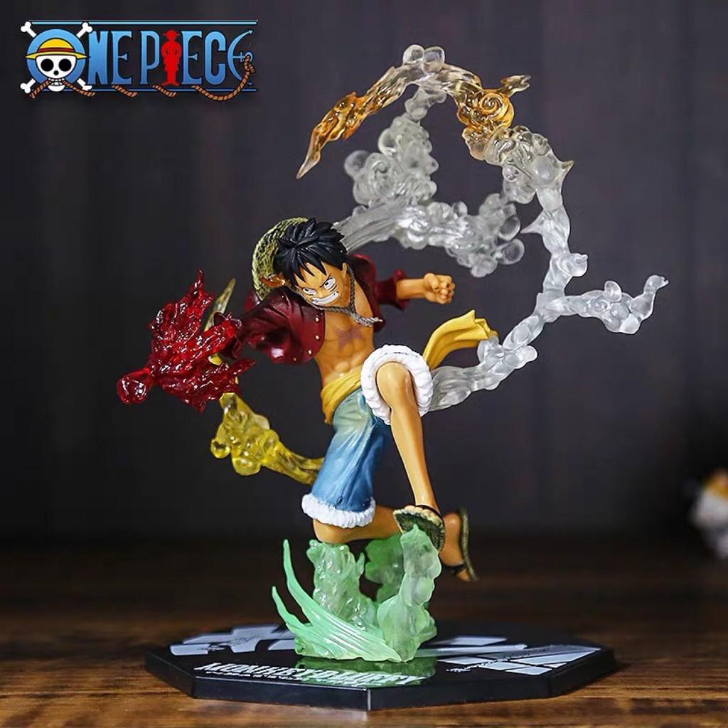 [Đồng giá 130k] Mô hình nhân vật one piece ace luffy sanji hiệu ứng full box