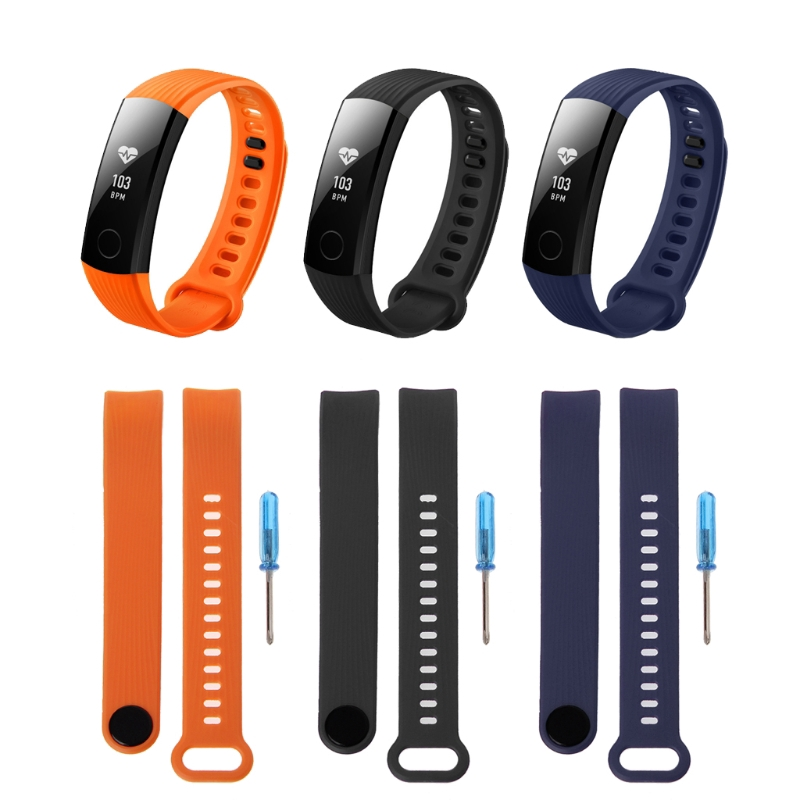 win♥Silicone Adjustable Band For Huawei Honor 3 Bracelet Watch Replacement Accessory