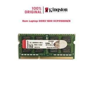 Ram Laptop Kingston DDR3 Bus 1600 cho mọi dòng Laptop KCP316SS8/4 KCP316SD8/8