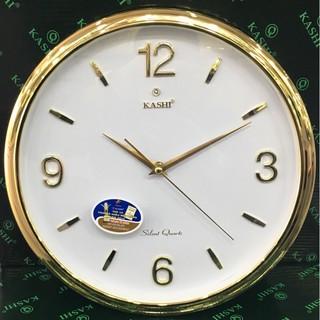 Đồng hồ treo tường Kashi K78 Viền mầu vàng