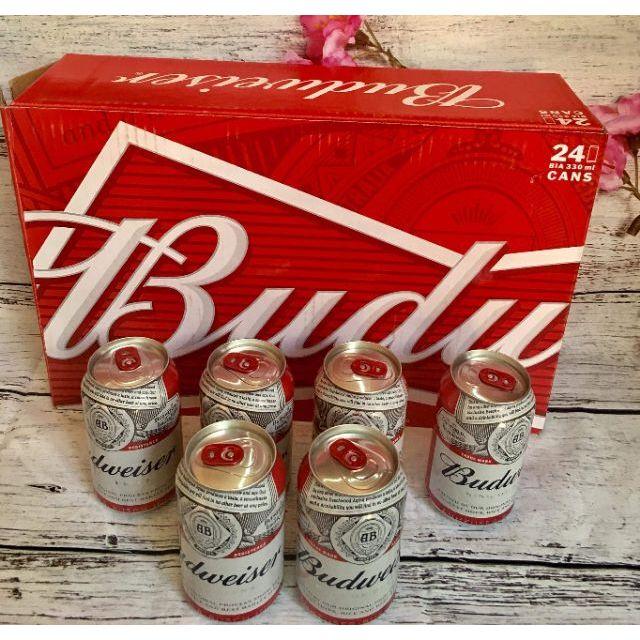 Bia Budweiser Mỹ thùng 24 lon x330ml - 3151128 , 1272482893 , 322_1272482893 , 380000 , Bia-Budweiser-My-thung-24-lon-x330ml-322_1272482893 , shopee.vn , Bia Budweiser Mỹ thùng 24 lon x330ml