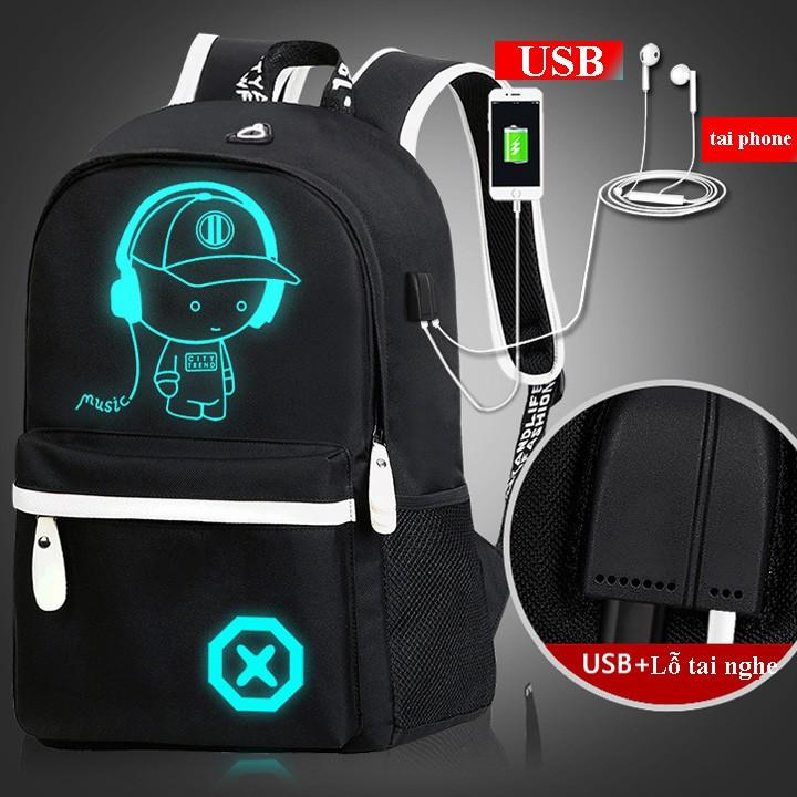 Balo Phát Sáng Boy Music Có Cổng Sạc USB, Lỗ Tai Nghe Tiện Lợi - 3123640 , 1327163265 , 322_1327163265 , 450000 , Balo-Phat-Sang-Boy-Music-Co-Cong-Sac-USB-Lo-Tai-Nghe-Tien-Loi-322_1327163265 , shopee.vn , Balo Phát Sáng Boy Music Có Cổng Sạc USB, Lỗ Tai Nghe Tiện Lợi