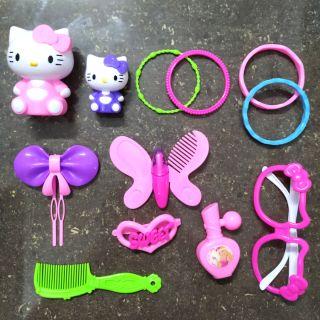 Giỏ đồ chơi trang điểm cho bé gái