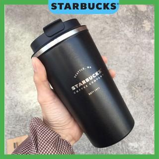 Ly cốc giữ nhiệt Starbucks uống cafe nắp bật dung tích 500ml