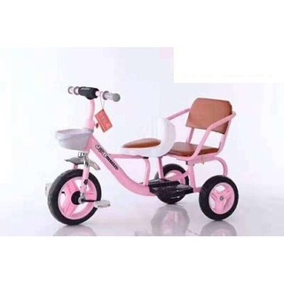 [Giá sỉ] Xe đạp 3 bánh xích lô kéo loại to (2 ghế) thumbnail