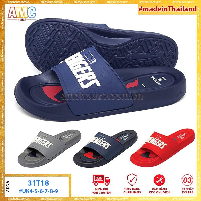 Dép Thái Lan siêu nhân AVENGERS quai ngang ADDA 31T38