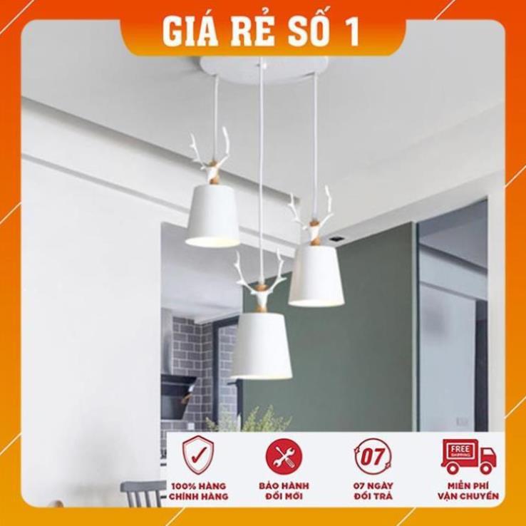 Đèn Thả Trần -  Đèn Thả Bàn Ăn Cao Cấp kèm bóng LED chuyên dụng và đế ốp trần