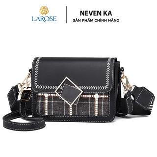 Túi đeo chéo phối dạ xinh xắn thương hiệu NEVENKA N1819