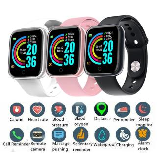 Đồng hồ thông minh Bluetooth Y68 / D20 Smartband