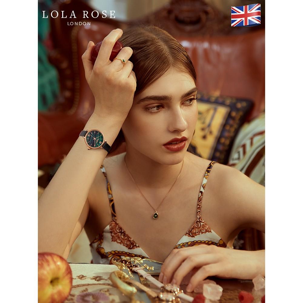 Đồng hồ nữ dây da LOLA ROSE cao cấp đến từ Anh thiết kế thời trang, dây đeo từ da bò cao cấp bảo hành 2 năm LR2032