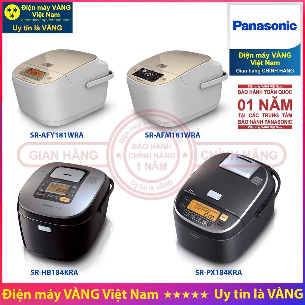 Nồi cơm điện cao tần Panasonic SR-AFY181WRA SR-AFM181WRA SR-HB184KRA SR-PX184KRA - Hàng chính hãng
