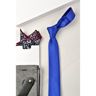 Cà vạt nam - cavat lụa sần bản nhỏ 5cm thumbnail