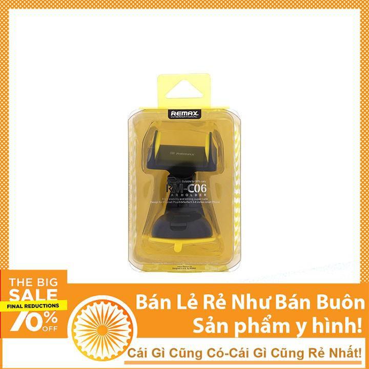Giá Đỡ Điện thoại Trên Ô tô Remax C06 giá rẻ