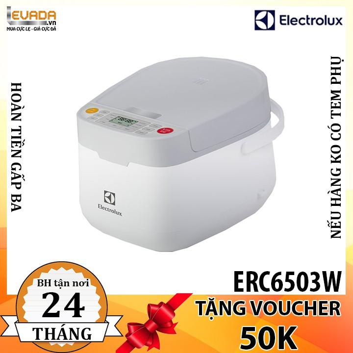 (BAO VẬN CHUYỂN + LẮP ĐẶT) Nồi Cơm Điện Electrolux ERC6503W 1.2 Lít - CHỈ BÁN HỒ CHÍ MINH