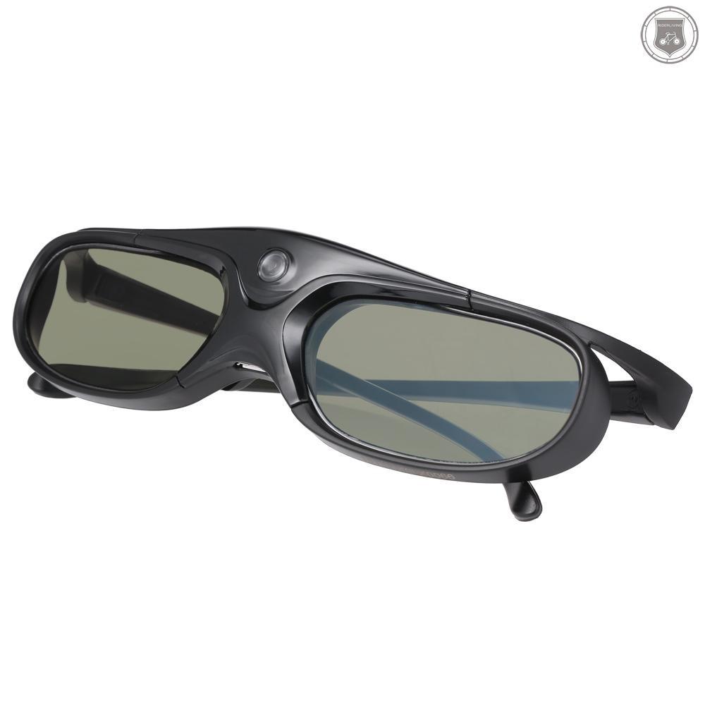 R&L GL2100 Projector 3D Glasses Active Shutter Rechargeable DLP-Link for All 3D DLP Projectors Optama Acer BenQ ViewSonic Sharp Dell